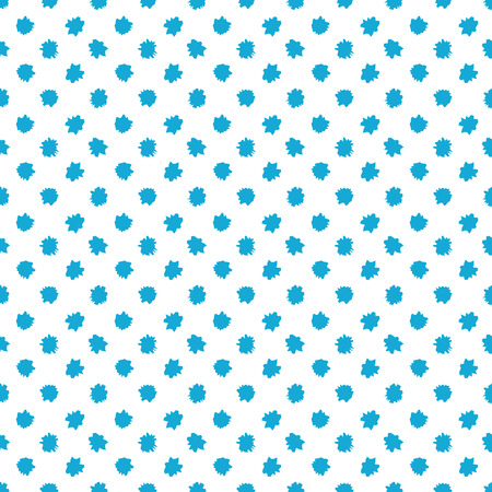 abstract seamless: Blue and white seamless pattern with dots