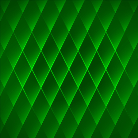 virid: Abstract green geometric background. Bright vector emerald wallpaper with cells. Illustration