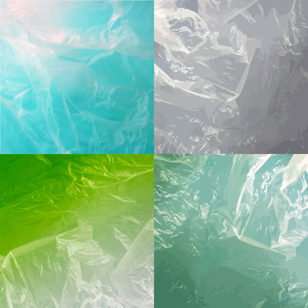textured backgrounds: Abstract water backgrounds with waves colorful set. Vector textured. Illustration