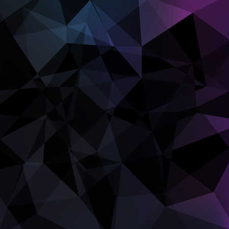 black: Black triangle abstract background.Vector low poly geometric illustration.