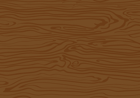 Wood Textured Background with Lines. Vector Nature Pattern Design. Flat Table Illustration.