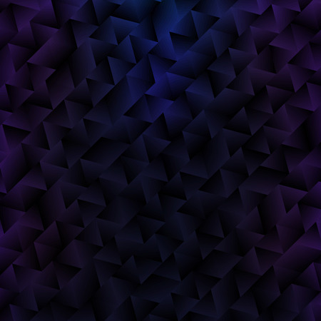 Black and Purple Abstract Background with Triangles. Vector VIP Texture. Geometric Illustrations with Gradients.