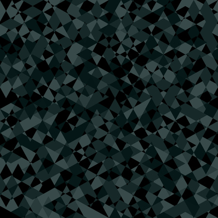 low poly: Khaki Seamless Pattern. Gray kaleidoscope Abstract Texture. Illustration