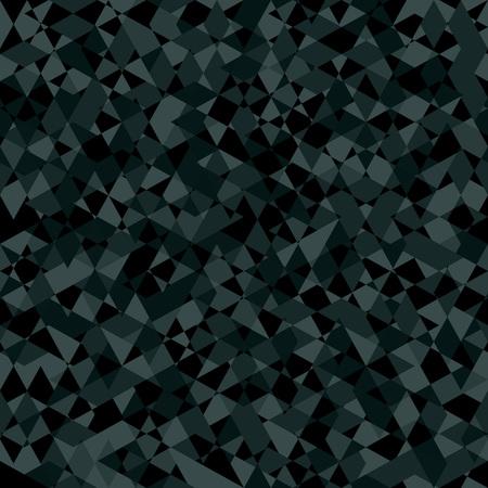 smithereens: Khaki Seamless Pattern. Gray kaleidoscope Abstract Texture. Illustration