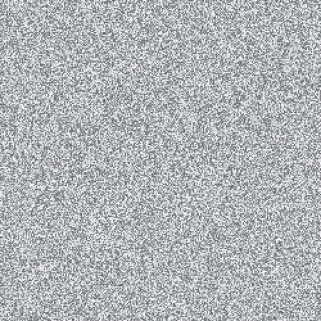 glitch: 8 Bit TV Interference Background. Glith Grain Gray Pixel Screen. Vector Noise Grunge Texture.