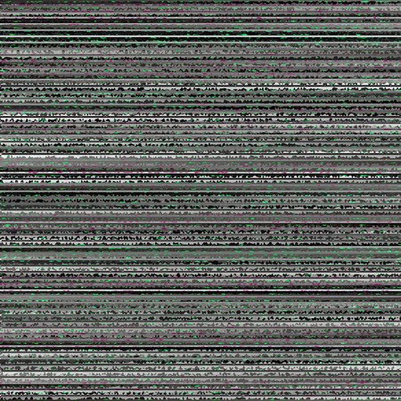 Random Striped Noise Background. Abstract Television Interference. Tech Glitch. Bad TV Signal Illustration. Illustration