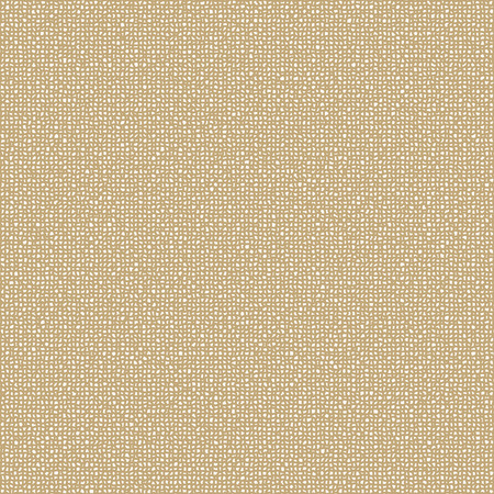 linen: Abstract Gause Texture. Vector Material Background. Brown Sacking Wallpaper.