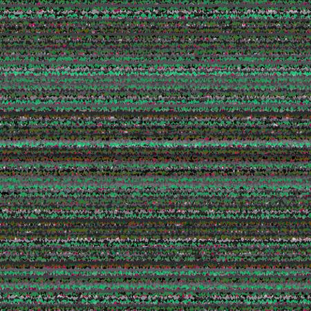 glitch: Nero, bianco, verde e grigio a righe Astratto. Vector TV interferenza. VHS Glitch Trama. Vettoriali