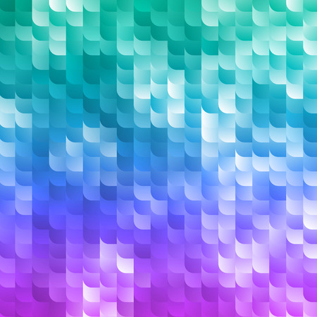 brilliant   undersea: Magic Sparkles Mosaic Background. Abstract Colorful Texture. Vector Sequins Illustration.