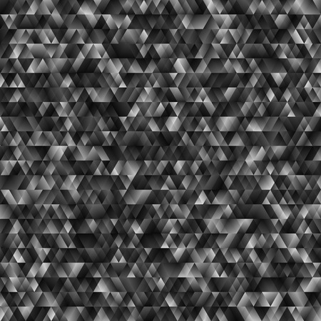 branch cut: Abstract Monochrome Geometric Background. Vector Texture with Black, White and Gray Triangles. Random Elements Noise.