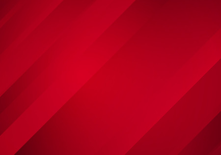 blurred: Abstract Red Background with Stripes. Vector Minimal Banner.