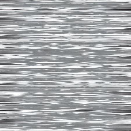 Glitch on TV Screen. No Signal Illustration. White Television Noise Abstract Background. Ilustração