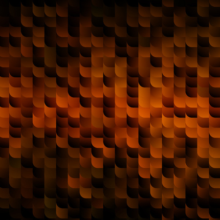 shimmer: Gold and Black Shimmer Texture. Vector Abstract Mosaic Background for Banners, Party Posters and Cards.