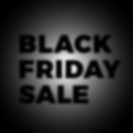 auction off: Black Friday Sale Banner Design. Vector Sale Illustration. Promo Background Template. Illustration