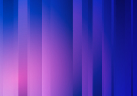 Abstract Blue Background with Stripes. Vector Minimal Sleek Geometric Banner.  イラスト・ベクター素材