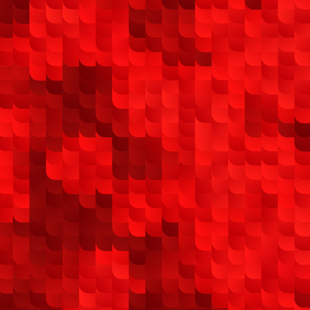 bg: Abstract Red Vector Background with Random Gradient Tiles. Ruby Bg Modern Texture.