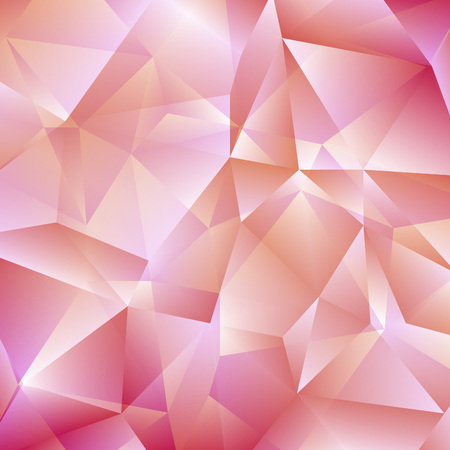 bg: Delicate Pink Geometric Background.  Illustration
