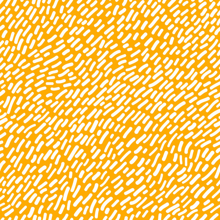 Bright Dynamic Yellow Background with Hand Drawn Stripes.