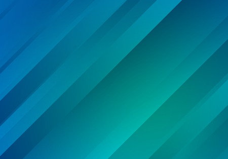 Blue and Green Background with Gradient Stripes. Abstract Geometric .  Texture.