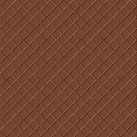 cone cake cone: Chocolate Waffle Background. Crispy Snack Illustration. Realistic Food Seamless Pattern. Ice Cream Cone Texture. Illustration