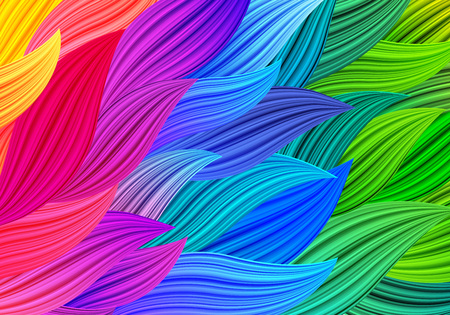 Multicolor Vector Abstract Background. Bright Colorful Bg. Rainbow Illustration for Banners, Backgrounds, Posters, Screensavers or Cards. 向量圖像