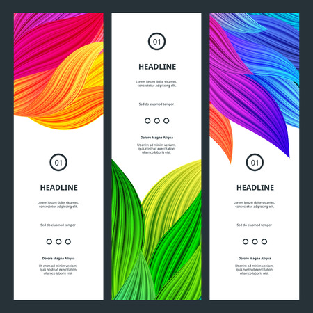 bg: Elegant Colorful Banners with Flowers Petals. Abstract Beautiful Backgrounds. Vector Vibrant  Graphic for Business Cards, Web Banners, Invitation Cards, Party Posters and Advertisement Flyers. Illustration