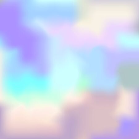hologram: Pastel Colored Vector Hologram. Modent Style Trends 80 Background. Abstract Pearl Texture.