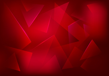 Broken Glass Ruby Background. Red Decorative . Explosion, Destruction Cracked Surface Illustration. Abstract 3d Bg for Night Party Posters, or Advertisements.