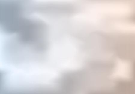 Bewolkt Weer Abstracte Achtergrond. Vector grijze luchtillustratie