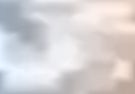 Cloudy Weather Abstract Background. Vector Gray Sky Illustration