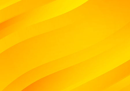 Abstract Yellow Background with Waves. Vector Minimal Banner. Illustration