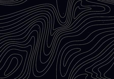 Fond noir avec des rayures blanches. Modèle sans couture avec illusion d'optique. Vecteurs