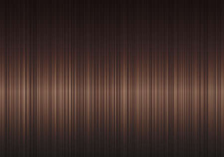 Brunette Glossy Straight Hair Texture. Vector Realistic 3d Illustration. Design Element for Hairdressers