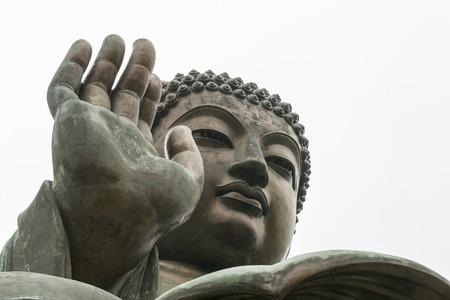 big buddha: Tian Tan Buddha - The worldss tallest bronze Buddha in Lantau Island, Hong Kong