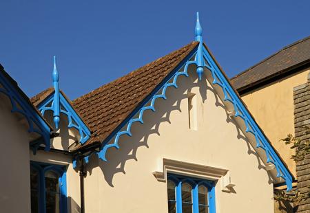 Interesting roof detail on UK buildings