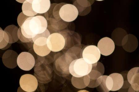 White Christmas Lights Bokeh Reklamní fotografie