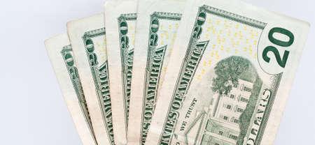 Twenty Dollar United States Currency Bill Stock Photo - 18809809