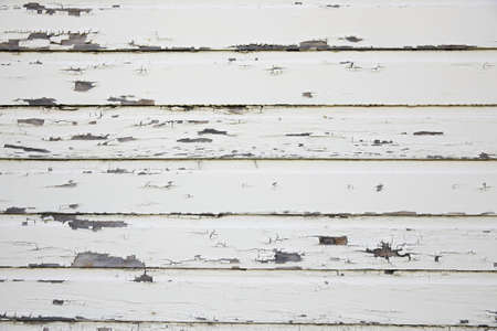 White Weathered Wooden Barn photo