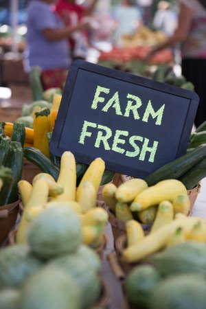 bridget calip: Farm Fresh Green and Golden Zucchini and Calabacitas at the Farmers Market