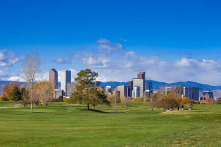 City Park Golf Course, Denver, Colorado Stock Photo
