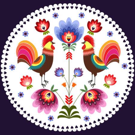 Polish pattern Illustration