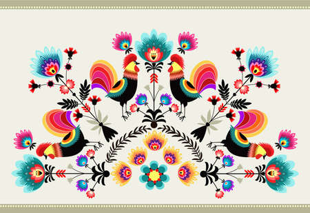 folk art: folk pattern