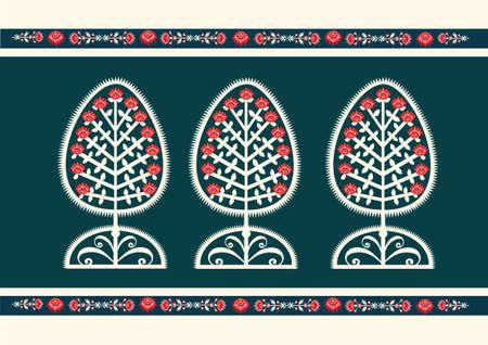 Folk tree Illustration
