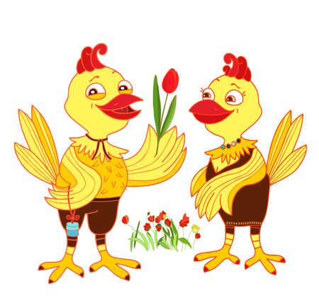 proposal of marriage: Proposta di matrimonio di pollo