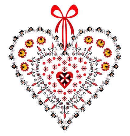 Love Heart Ornamental