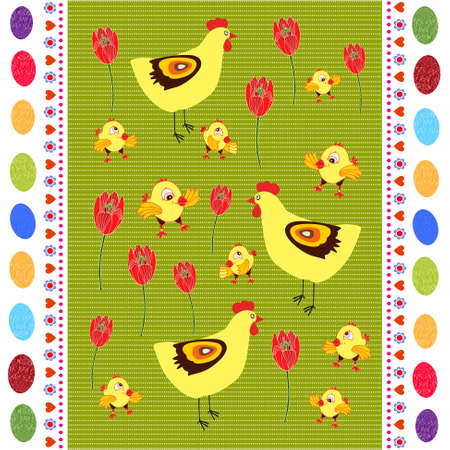 Happy Easter  Ilustrace