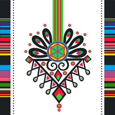 polish: polish folk pattern parzenica