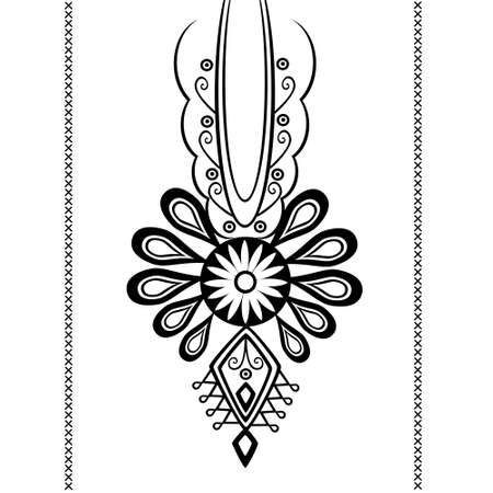 folk: polish folk pattern - parzenica Illustration