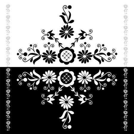 motif folklorique polonais