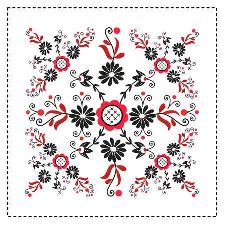 folk: polish folk pattern
